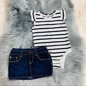Baby girl GAP outfit
